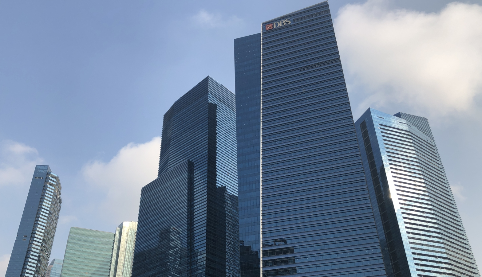 DBS Bank headquarter in Singapore